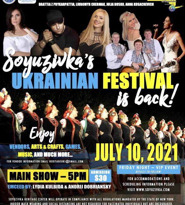 Soyuzivka 2021 Festival